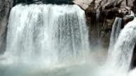 Shoshone Falls close Twin Idaho HD video