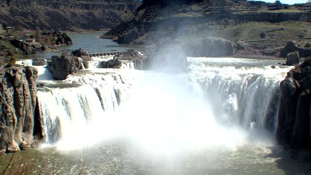 Shoshone Falls Idaho - Medium Shot_002 video
