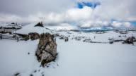 T/L 8K shot of a cloudscape at Kamnik-Savinja Alps video