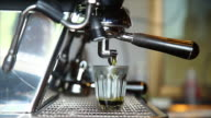 Shot of Green Matcha Tea video