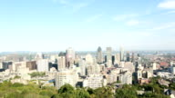 Shot of Montreal Downtown in Summer video