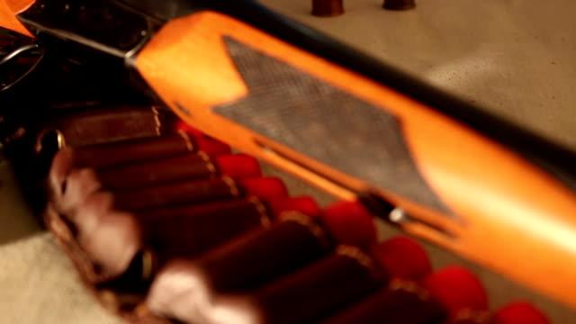 shotgun and cartridges video