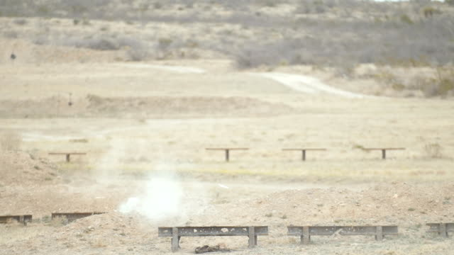 Shots Fired at Exploding Targets video
