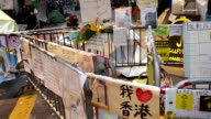 3 Shots: Hong Kong occupy protests in Wanchai October 2014 video