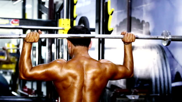 Shoulder Exercise in the Gym video