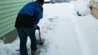 Shovel Driveway Timelapse video