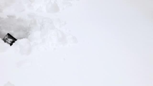 Shoveling Snow, Across video