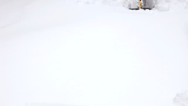 Shoveling Snow, Coming Forward video