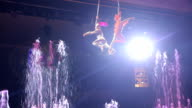 Show of Aerial Performers video