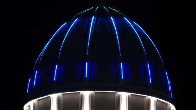 LED show on resort hotel video