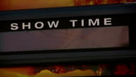 Show Time Every 10 Minutes Sign video