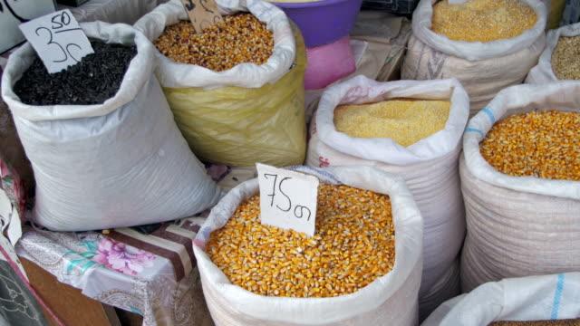 Showcases Grain In Sacks In Georgia video