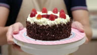 Showing Black Forest Cake video