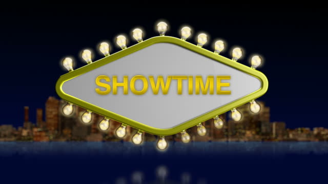 Showtime Sign video