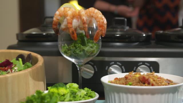 Shrimp Cocktail Move Left video