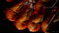 Shrimp on the grill video