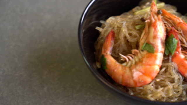 Shrimp potted with vermicelli video