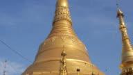 Shwedagon Pagoda in Yangon, Myanmar (Burma) video