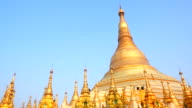 Shwedagon Pagoda in Yangon, Myanmar video