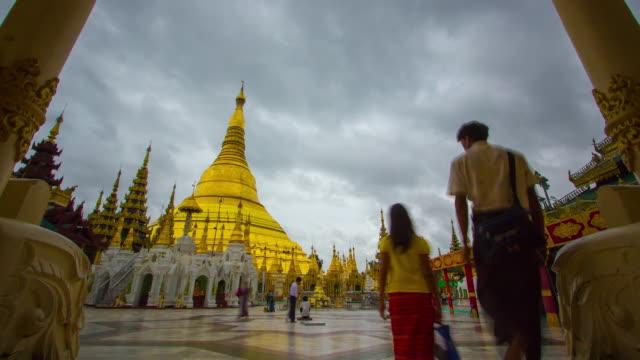 Shwedagon pagoda Myanmar. video