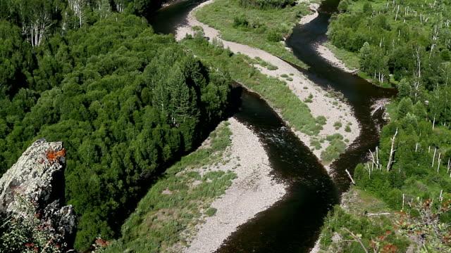 Siberian River video