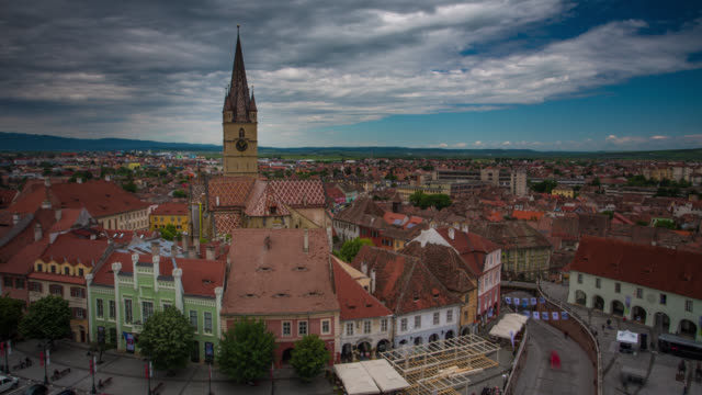 TIME LAPSE: Sibiu, Romania video