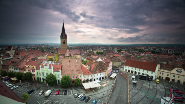 TIME LAPSE: Sibiu Romania video