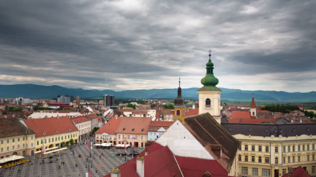 TIME LAPSE: Sibiu video
