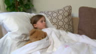 Sick child; coughing - 1080p video