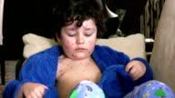 Sick little boy video