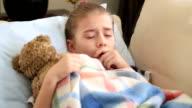 Sick little girl video