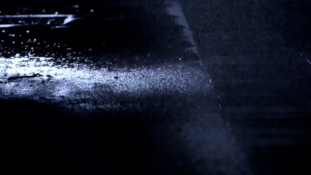 Sidewalk In The Rain video