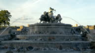 Sightseeing of Copenhagen. Gefion Fountain video