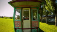 Sightseeing Train for Children at the Park video