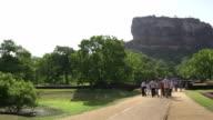 Sigiriya temple in Sri Lanka video