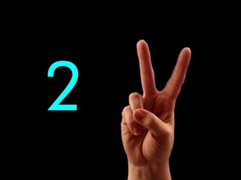 Sign Language 0 to 10 video