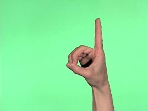 Sign Language Alphabet Letters A-M video
