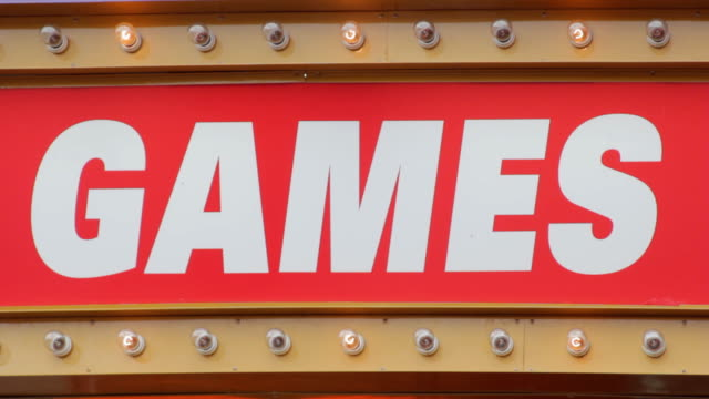 GAMES sign. video
