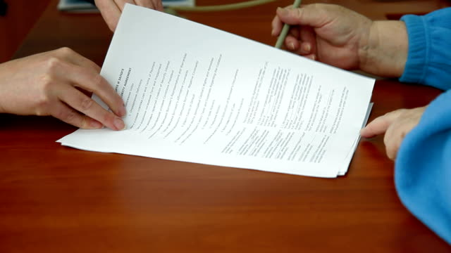 Signing Banking Credit Agreement video