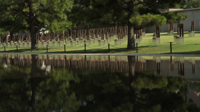 Silent Chairs at the Oklahoma City Bombing Memorial video