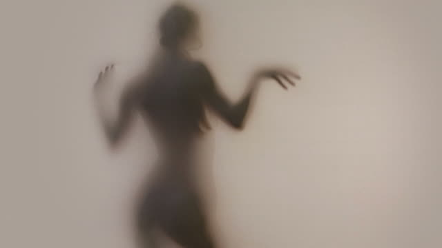 Silhouette of Female in Shadows video