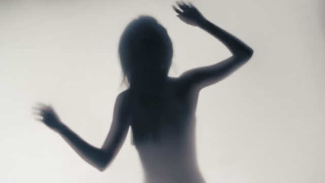 Silhouette of woman video