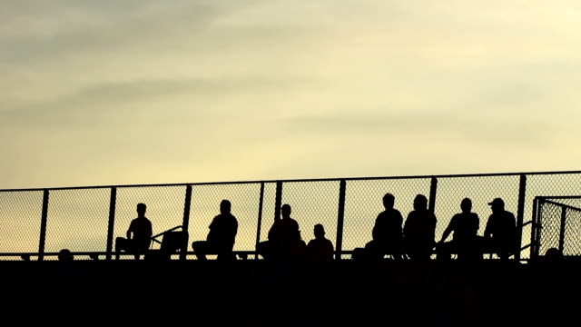 Silhouetted Stands video