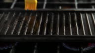 HD Silicon Brush prepares grill video