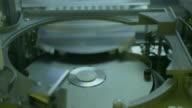 Silicon wafer production in a Semiconductor manufacturing facility video