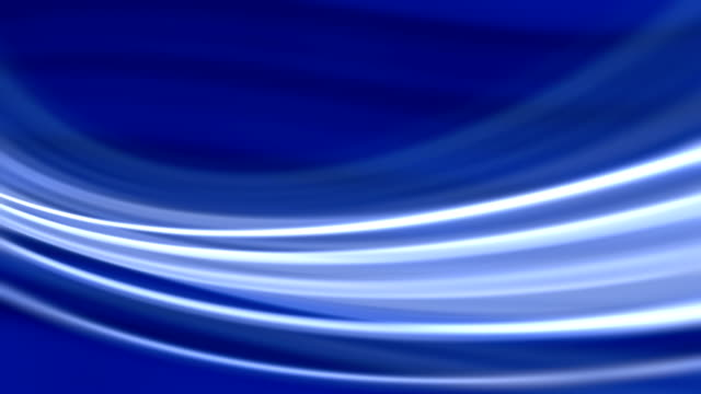 Silk Blue Flowing Waves  Background (Loopable) video