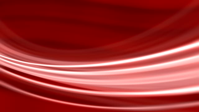 Silk Red Flowing Waves Background (Loopable) video