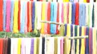 Silk threads video