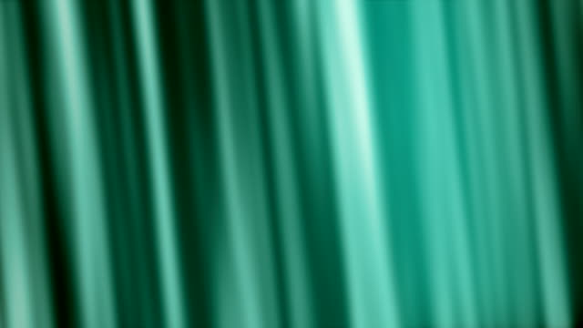 Silk Turquoise Flowing Waves Background (Loopable) video