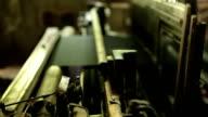 Silk Weaving Machine video